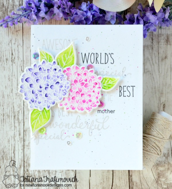 World's Best Mother #handmade card by Tatiana Trafimovich #tatianacraftandart - Simply Relative Stamp set by Newton's Nook Designs #newtonsnook