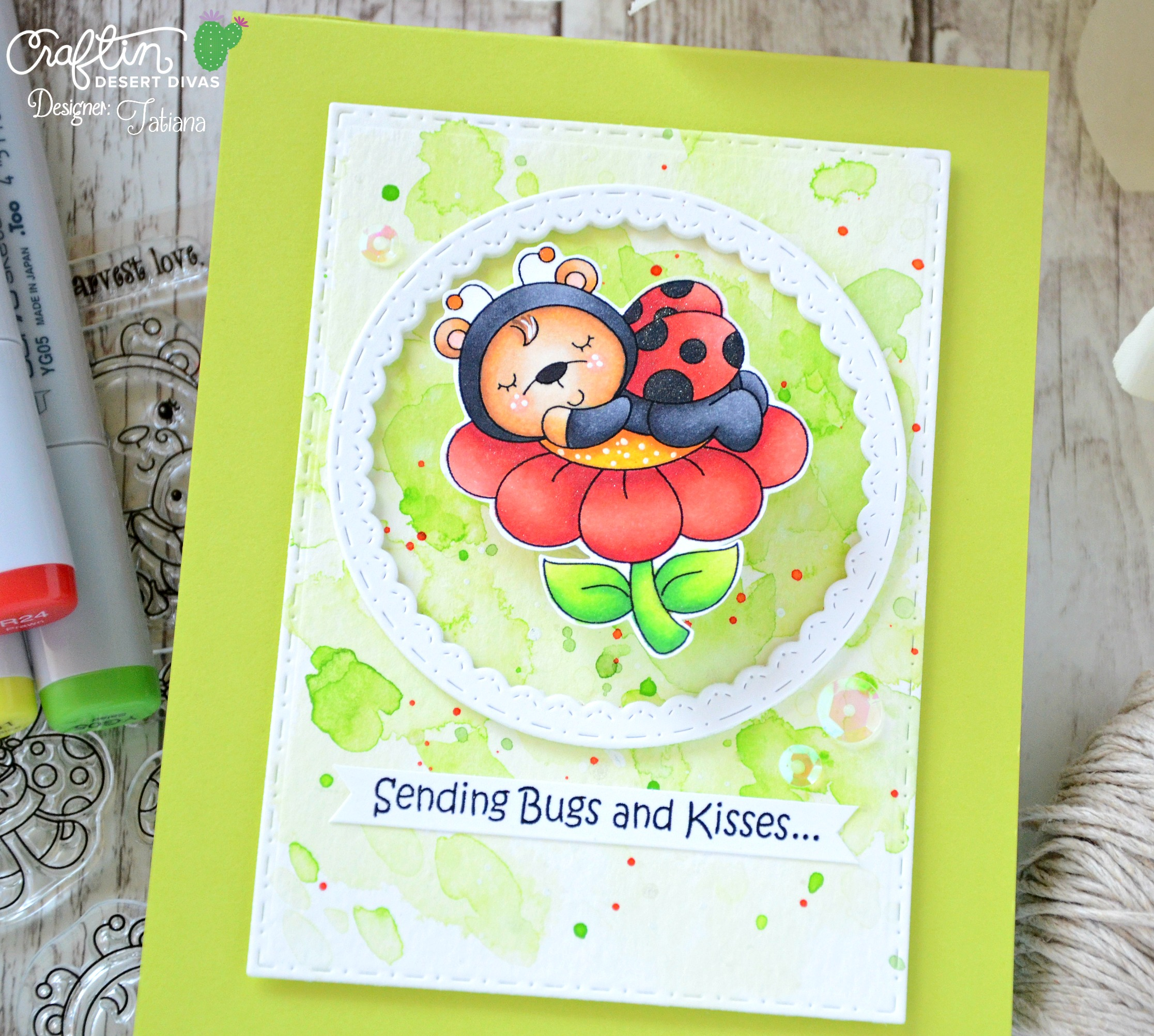 Ladybug Garden - Home Design Ideas and Pictures