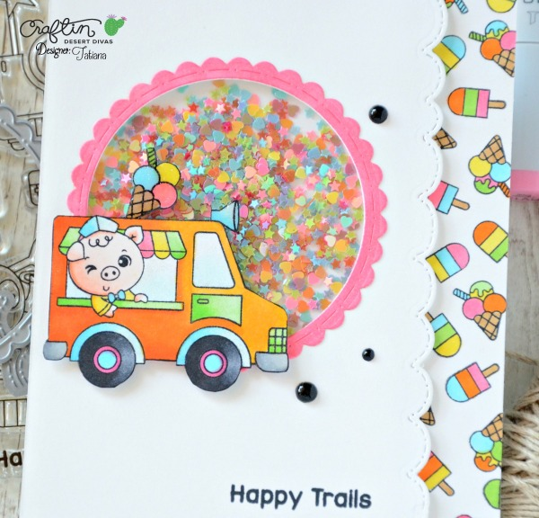 Happy Trails #handmadecard by Tatiana Trafimovich #tatianacraftandart - Happy Trails stamp set by Craftin Desert Divas #craftindeserdivas