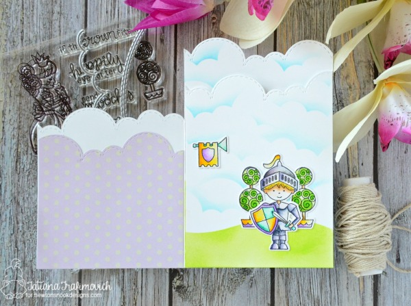 On Your Birthday #handmade card by Tatiana Trafimovich #tatianacraftandart - Knight's Quest stamp set by Newton's Nook Designs #newtonsnook