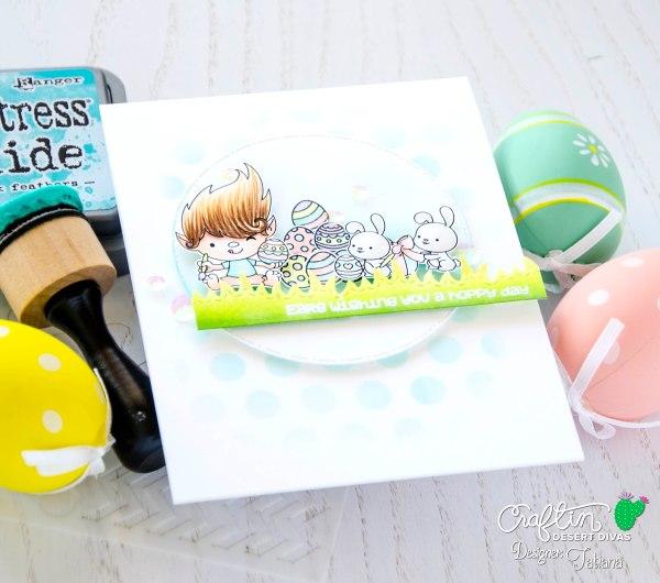 Ears Wishing You A Hoppy Day #handmadecard by Tatiana Trafimovich #tatianacraftandart - Jellybean Kisses Stamp Set by Craftin Desert Divas #craftindesertdivas