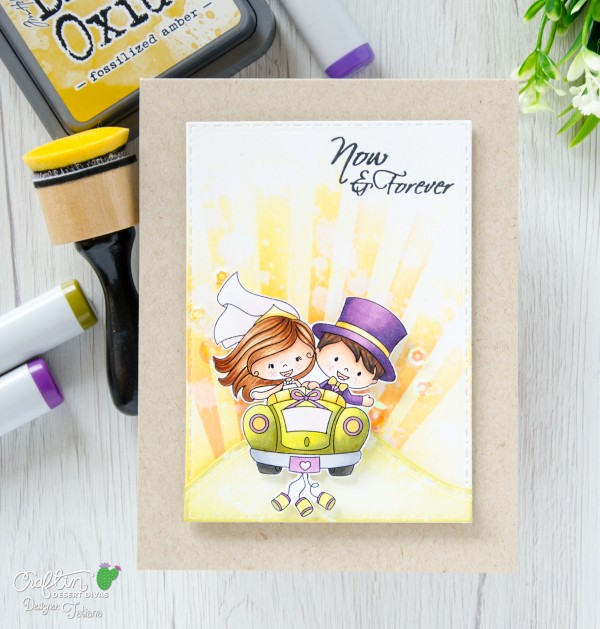 Now & Forever #handmadecard by Tatiana Trafimovich #tatianacraftandart - Hitched Stamp Set by Craftin Desert Divas #craftindesertdivas