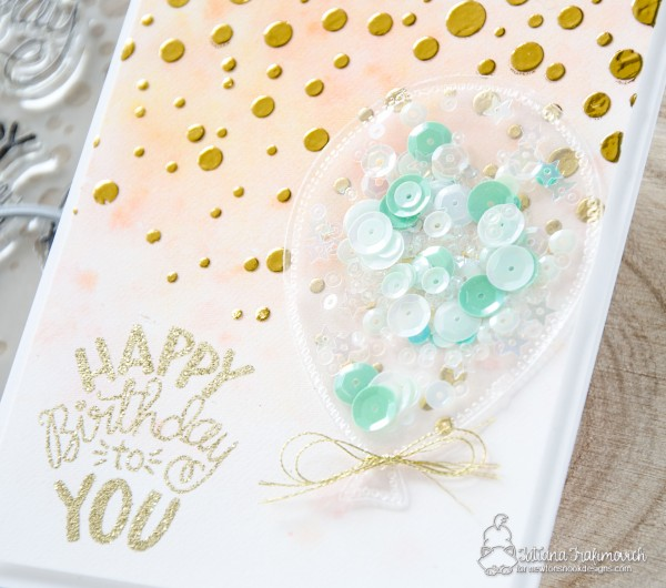 Happy Birthday To You #handmade card by Tatiana Trafimovich #tatianacraftandart - Uplifting Wishes stamp set by Newton's Nook Designs #newtonsnook