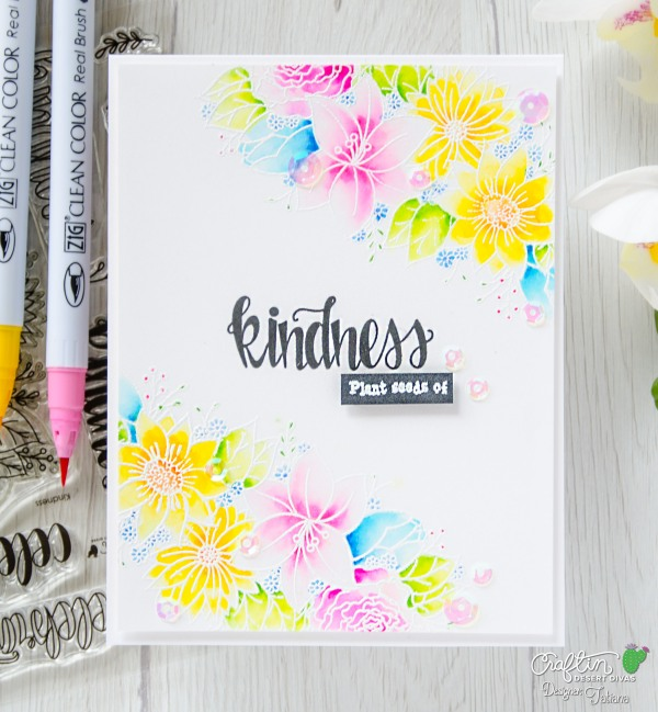 Plant Seeds of Kindness #handmadecard by Tatiana Trafimovich #tatianacraftandart - Kindness stamp set by Craftin Desert Divas #craftindesertdivas