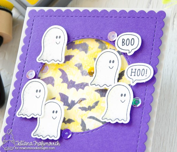 Boo Hoo #handmade card by Tatiana Trafimovich #tatianacraftandart - Boo Hoo stamp set by Newton's Nook Designs #newtonsnook
