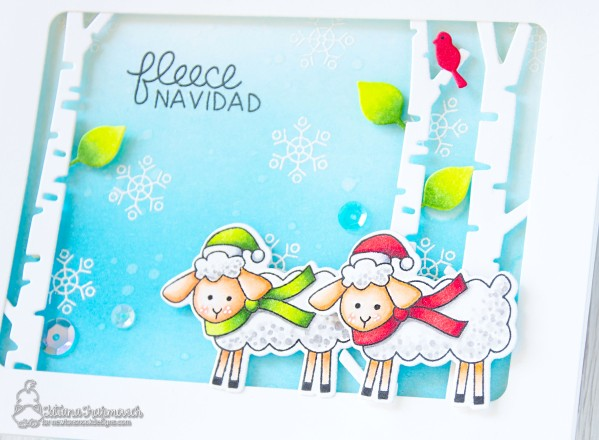 Fleece Navidad #handmade card by Tatiana Trafimovich #tatianacraftandart - Fleece Navidad stamp set by Newton's Nook Designs #newtonsnook