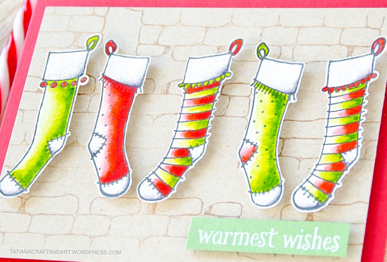 Warmest Wishes #handmade card by Tatiana Trafimovich #tatianacraftandart - stamps by Purple Onion Designs