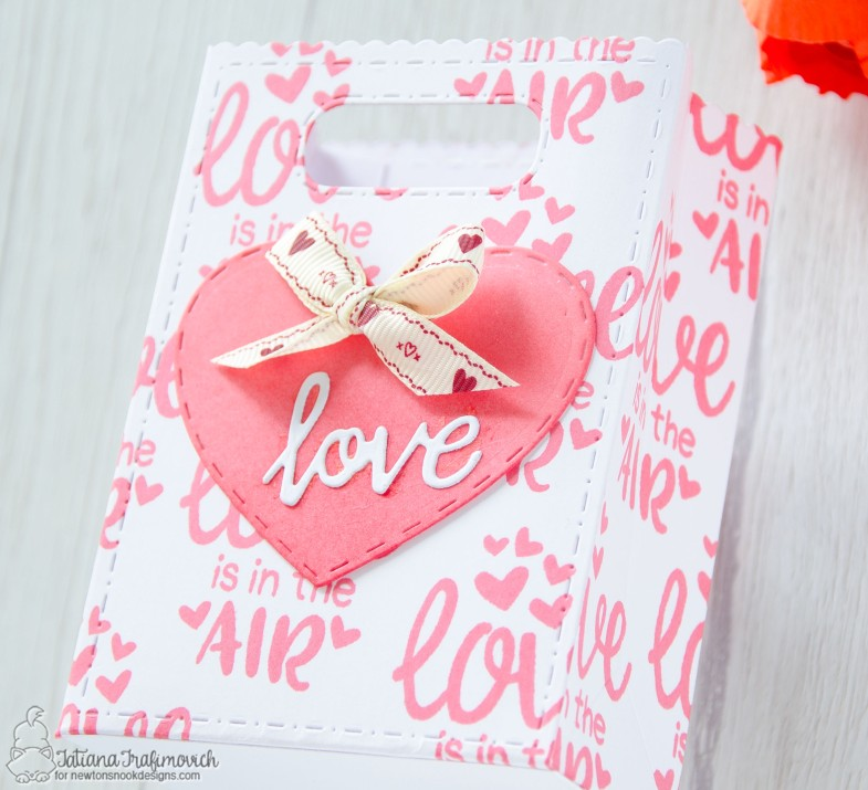 DIY Sweet Treats Bags by Tatiana Trafimovich #tatianacraftandart - stamps and dies by Newton's Nook Designs #newtonsnook