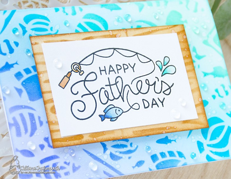 Happy Father's Day #handmade card by Tatiana Trafimovich #tatianacraftandart - Father's Day stamp set by Newton's Nook Designs #newtonsnook