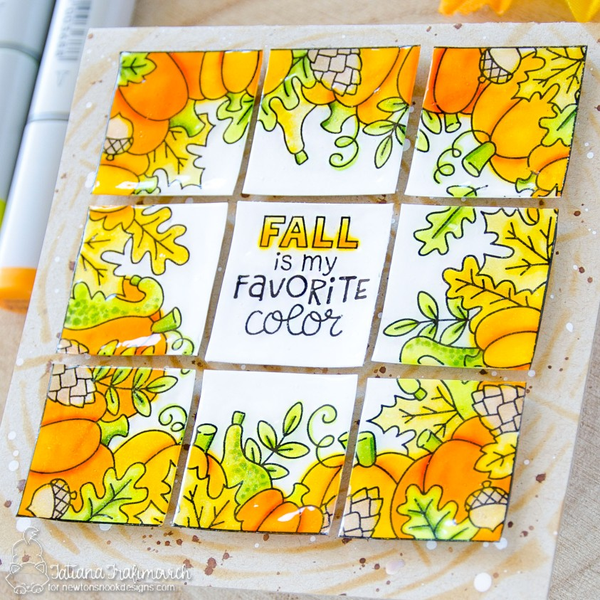 Fall Is My Favorite Color #handmade card by Tatiana Trafimovich #tatianacraftandart - Fall Fringe stamp set by Newton's Nook Designs #newtonsnook