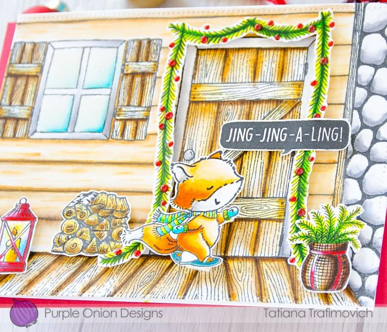 Jing-Jing-A-Ling #handmade card by Tatiana Trafimovich #tatianacraftandart - stamps by Purple Onion Designs #purpleoniondesigns