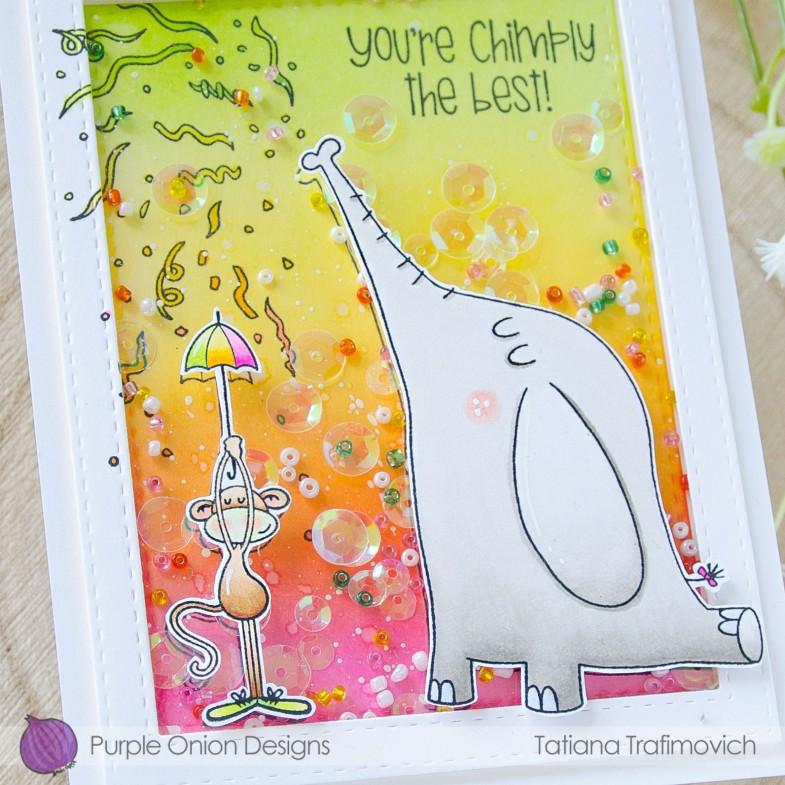 You're Chimply The Best! #handmade card by Tatiana Trafimovich #tatianacraftandart - stamps by Purple Onion Designs #purpleoniondesigns