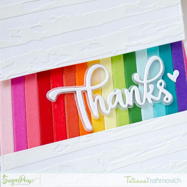 Thanks #handmade card by Tatiana Trafimovich #tatianacraftandart - Thanks SugarCut by SugarPea Designs #sugarpeadesigns