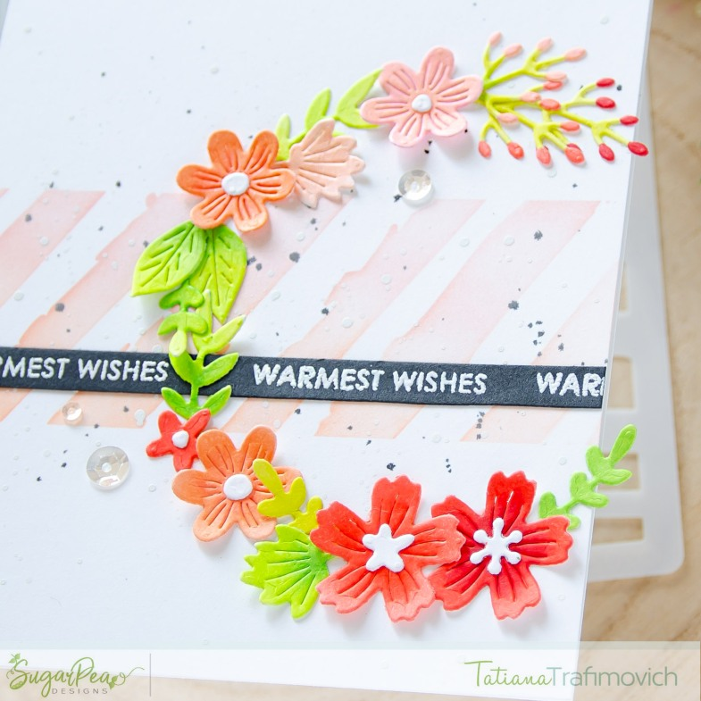 Warmest Wishes #handmade card by Tatiana Trafimovich #tatianacraftandart - Open Book SugarCut by SugarPea Designs #sugarpeadesigns